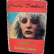 1st Edition Candy Darling, Hanuman Books, NYC, 1992
