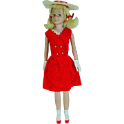 Vintage Mattel S/L Skooter with Blond Hair, 1965
