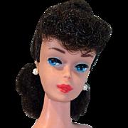 Mattel Vintage #6 Brunette Ponytail Barbie, 1963