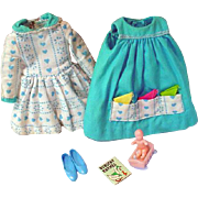 Vintage Mattel Skipper Outfit, Let's Play House, 1966