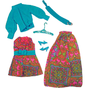 Vintage Mattel Barbie Outfit, Mood Matchers, 1970