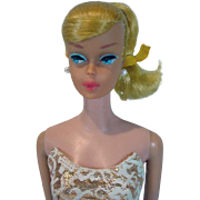 Lemon Blond Vintage Barbie Swirl Ponytail, Mattel, 1964