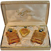 Vintage 1950's Evyan Surprise Gift Set, Perfume/Cologne, Un-used!
