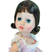 Vintage Madame Alexander Cissette Doll in Day Dress, 1962