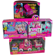 NRFB Mattel Kelly and Friends Collection, 1990's