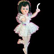 1950's Hard Plastic and Vinyl Ballerina Doll