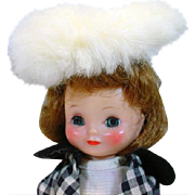 """Vintage American Character 8"""" Betsy McCall Doll, 1957"""