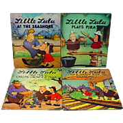Lot of 4 Little Lulu Books, 1946, Marjorie Henderson Buell