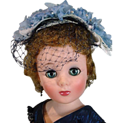 "Beautiful American Character 20"" Sweet Sue Sophisticate, 1957"