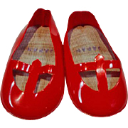 Original Mattel Singin' Chatty Red Shoes, 1965