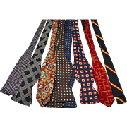 Collection of Men's Vintage Silk BowTies