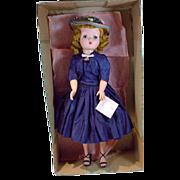 Vintage Madame Alexander Cissy Doll, MIB, 1955