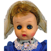 Vintage Cosmopolitan Ginger Doll, 1956 as Dutch Girl