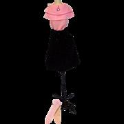 Rare Vintage Barbie Outfit, Atelier Fest, 1966, Mattel, European Market