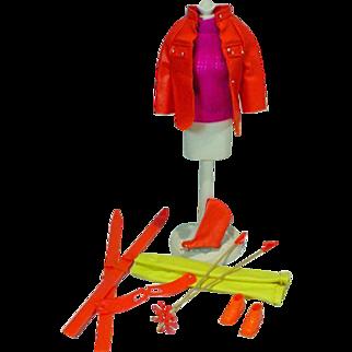 Vintage Mattel Barbie Outfit, The Ski Scene, 1970