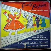 MIB Candy Fashion Doll and Wardrobe, 1960's