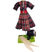 Vintage Madage Alexander Cissy Size Day Dress Ensemble, 1950's