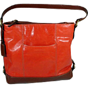 TIGNANELLO, Leather Saddle Bag Purse