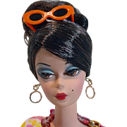 Mattel Silkstone  Brunette Barbie in Dressmaker Details Couture Ensemble