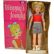 Vintage Ideal Tammy's Sister, Pepper, MIB, 1962