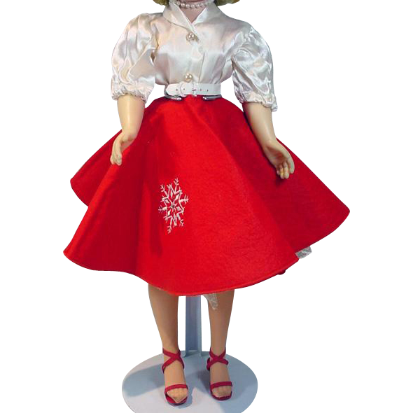 Vintage Madame Alexander Cissy Size Holiday Outfit!