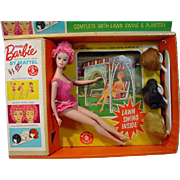 MIB 1964 Mattel Miss Barbie, Complete!