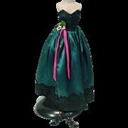Vintage 1950's Madame Alexander Cissy Size Evening Gown