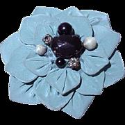 Moschico Fabric Flower Brooch!