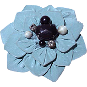 Moschico Fabric Flower Brooch!