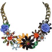 Beautiful Joan Rivers Runway Collar Necklace
