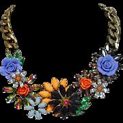 Beautiful Joan Rivers Runway Collar Necklace