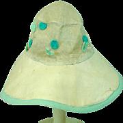 Antique Doll Bonnet, 1920's