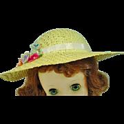 Madame Alexander Elise Size Spring Hat, 1950's