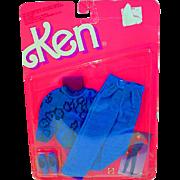 Vintage 1987 Mattel Ken Sweater-Soft Fashion, NRFC