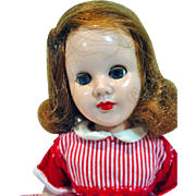 """Sandra Sue 8"""" Doll, Richwood Toys, 1956 in Party Dress"""