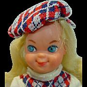 Mattel Foreign Market Tutti in Grosse Ferien Outfit, 1976