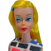Mattel 1966 Color Magic Barbie in Print Aplenty