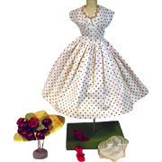 Ultra Chic Vintage Madame Alexander Cissy Size Spring Ensemble, 1950's