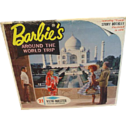 Vintage 1965 Barbie's Around The World Trip View Master Set