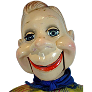 VIntage 1952 Howdy Doody Ventriloquist Doll, Ideal Toys, 22""