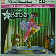 Mint in Package Superstar Barbie View Master, 1978.