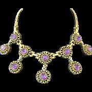 Gorgeous Vintage Barclay Rhinestone Necklace