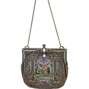 Gorgeous Petit Point and Needlework Vintage Purse