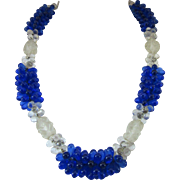 Beautiful Camphor Glass Necklace