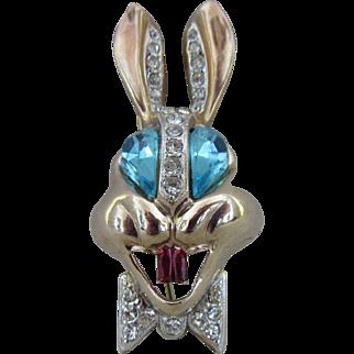 Karu  Fifth Avenue Bunny Pin