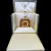 Jean Patou L'Heure Attendue Perfume Bottle - Limited Edition - 1991