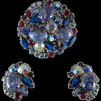 Juliana Easter Egg Pin and Earrings - Book Set