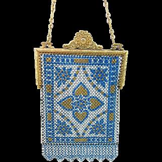 Beautiful Mandalian Vintage Mesh Purse