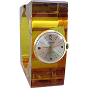 Fabulous Vintage Vendome Bakelite 17 Jewel Swiss Bracelet Watch