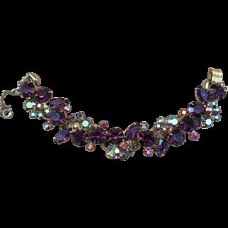 Gorgeous Juliana Link Style Rhinestone Bracelet
